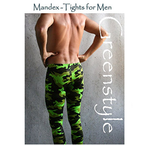 Greenstyle Men\'s Mandex Tights Sewing Pattern