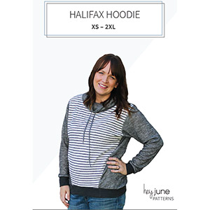 Hey June Halifax Hoodie Sewing Pattern