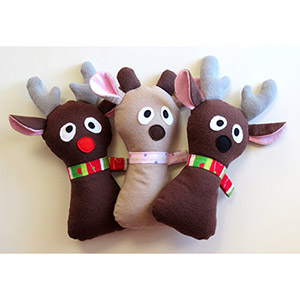 My Funny Buddy Doe a Reindeer Sewing Pattern