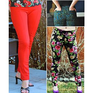6301539863816 Love Notions Sabrina Slims Sewing Pattern - Girl Charlee