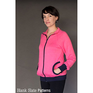 Blank Slate Patterns Zinnia Jacket Sewing Pattern