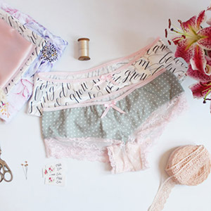 Ohhh Lulu Bryony French Knickers Sewing Pattern