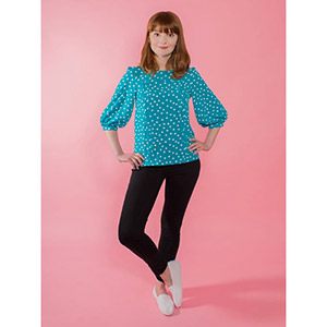 Tilly and the Buttons Mathilde Blouse Sewing Pattern