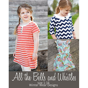 Winter Wear Designs All the Bells and Whistles Sewing Pattern