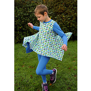 Love Notions Girl\'s Origami Tunic Sewing Pattern