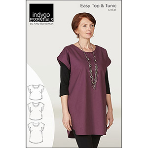 Indygo Junction Easy Top & Tunic  Sewing Pattern