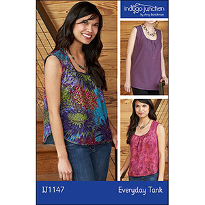 Indygo Junction Everyday Tank Sewing Pattern