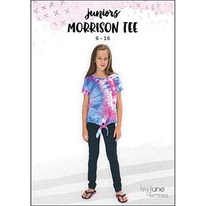 Hey June Morrison Tee Sewing Pattern