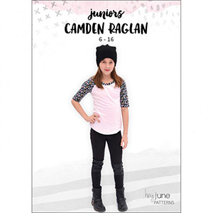 Hey June Camden Raglan Sewing Pattern