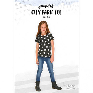 Hey June City Park Tee Sewing Pattern