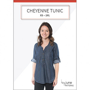 Hey June Cheyenne Tunic Sewing Pattern