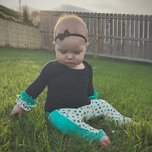 Petite Stitchery & Co Baby Fawn Leggings Sewing Pattern