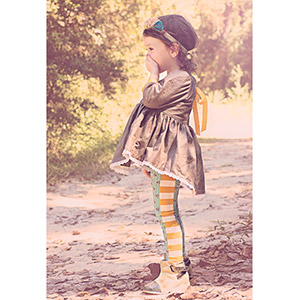 Petite Stitchery & Co Girls Fawn Leggings Sewing Pattern