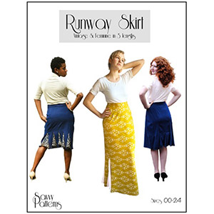 Savvy Patterns Runway Skirt Sewing Pattern