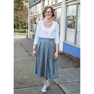 Straight Stitch Designs Wedgwood Skirt Sewing Pattern