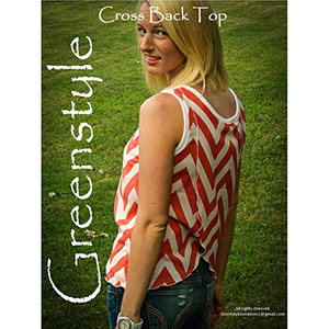 Greenstyle Creations Cross Back Top Sewing Pattern