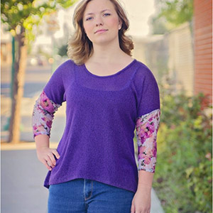 New Horizons Designs Dublin Dolman Sewing Pattern