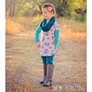 New Horizons Designs Girls Dublin Dolman Sewing Pattern