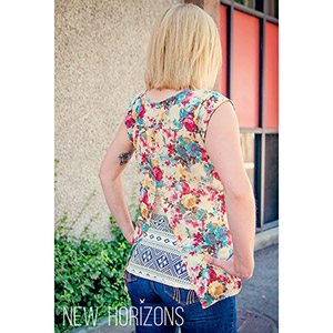 New Horizons Designs Bali Blouse & Sunset Cami Sewing Pattern