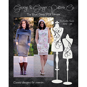 George & Ginger Rival Dress Sewing Pattern