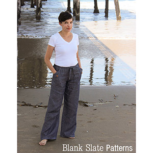 Blank Slate Patterns Oceanside Pants & Shorts Sewing Pattern