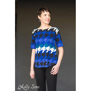 Blank Slate Patterns Shoreline Boatneck Sewing Pattern