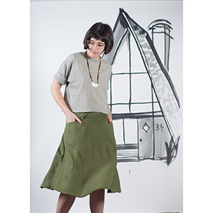 Blueprints For Sewing A-Frame Skirt Sewing Pattern