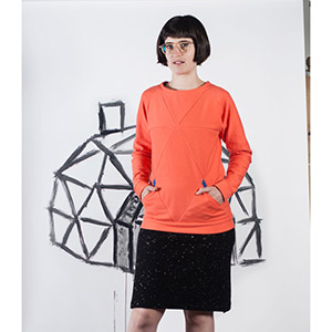 Blueprints For Sewing Geodesic Sweatshirt Sewing Pattern