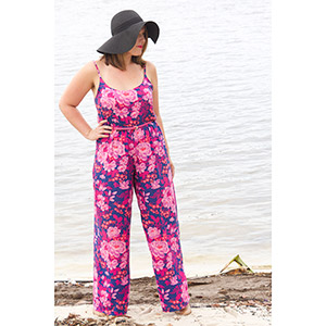 Sew to Grow Jet Set Jumpsuit & Wide Leg Pants Sewing Pattern