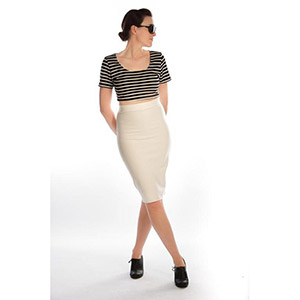 The Littlest Studio Knit Pencil Skirt Sewing Pattern