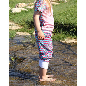 Brilliant Patterns Children\'s Maxi Pants Sewing Pattern