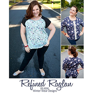 Winter Wear Designs Refined Raglan Sewing Pattern