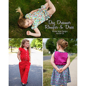 Winter Wear Designs Day Dreamer Romper Sewing Pattern