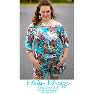Winter Wear Designs Boho Breeze Romper and Dress Sewing Pattern