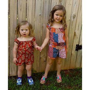 8884cb1fc Winter Wear Designs Boho Breeze Romper and Dress for Girls Sewing