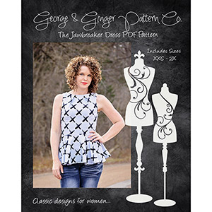 George & Ginger Jawbreaker Dress and Top Sewing Pattern