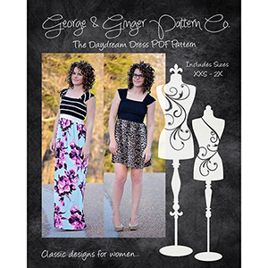 George & Ginger Daydream Dress Sewing Pattern