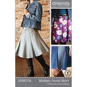 Indygo Junction Modern Gored Skirt Sewing Pattern