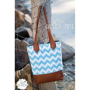 Sew to Grow Urban Outlook Tote Sewing Pattern