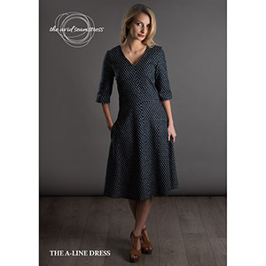 The Avid Seamstress  A-Line Dress Sewing Pattern