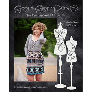 George & Ginger Day Trip Skirt Sewing Pattern