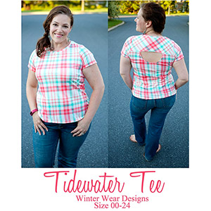 Winter Wear Designs Tidewater Tee Sewing Pattern