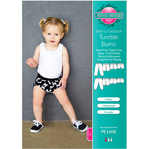 Pattern Emporium Baby & Toddler Tumble Bums Sewing Pattern