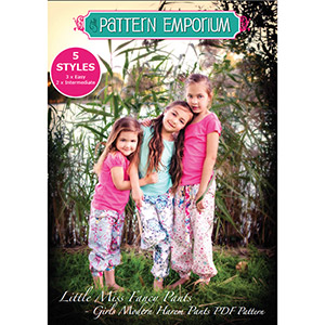 Pattern Emporium Kids Harem Pants Sewing Pattern