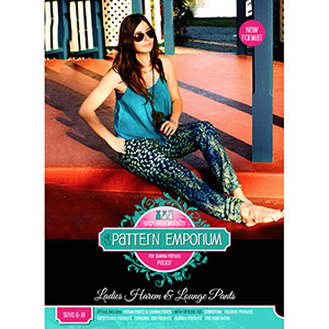 Pattern Emporium Ladies Harem Pants Sewing Pattern