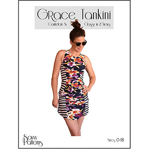 Savvy Patterns Grace Tankini Sewing Pattern