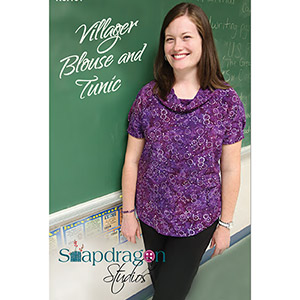 Snapdragon Studios Villager Blouse and Tunic Sewing Pattern