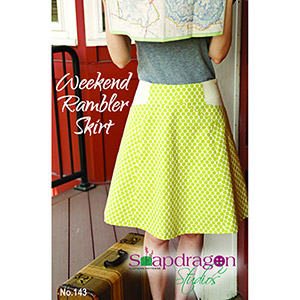 Snapdragon Studios Weekend Rambler Skirt Sewing Pattern
