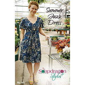Snapdragon Studios Summer Jazz Dress Sewing Pattern