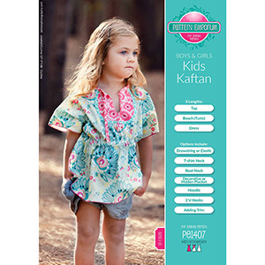Pattern Emporium Kids Kaftan Sewing Pattern